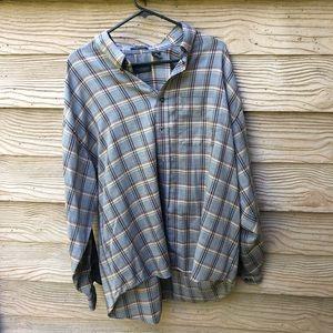 Men's XXL Van Heusen Vintage Flannel
